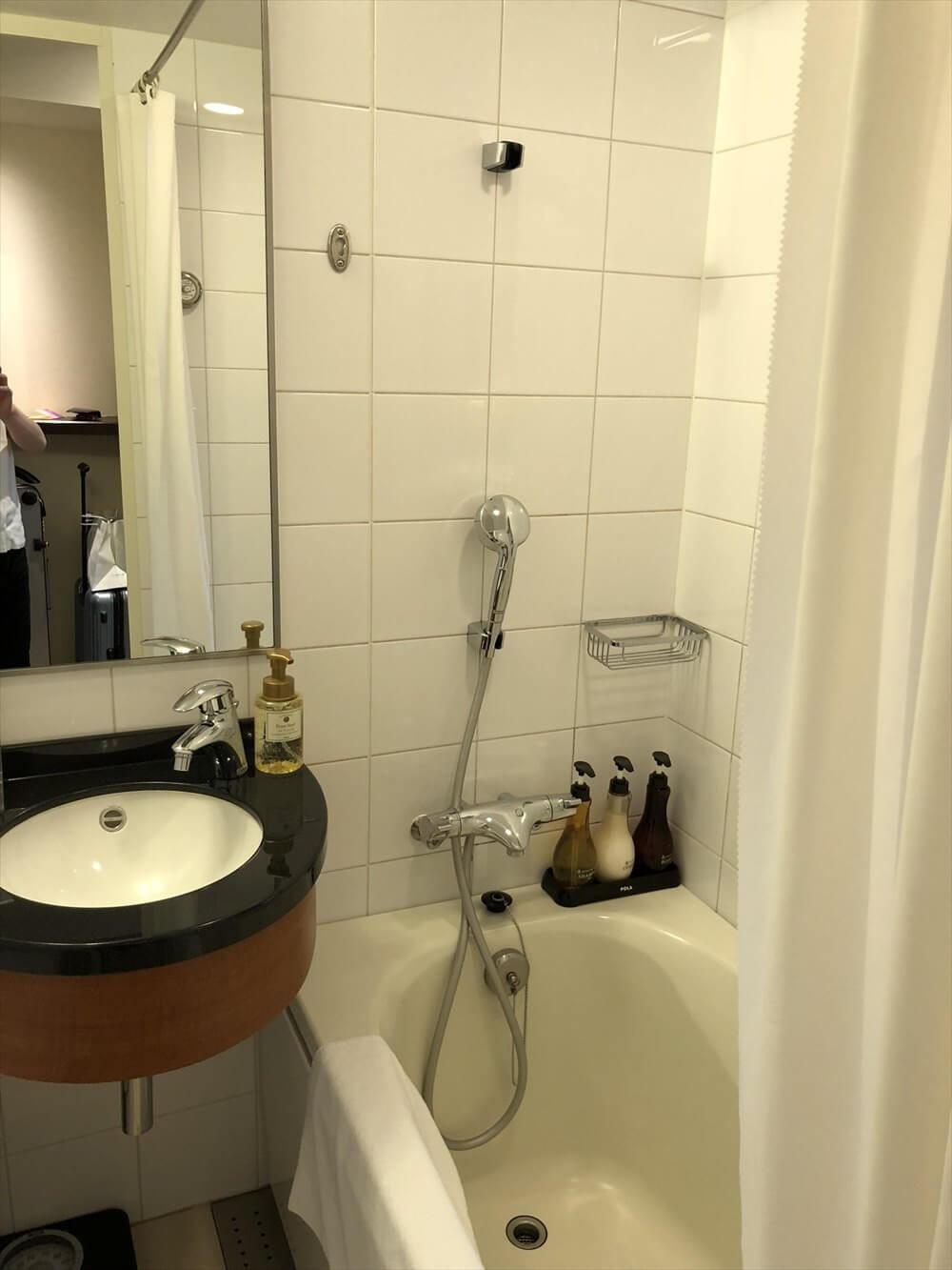 ANAクラウンプラザホテル岡山モデレートダブルのバスルーム2