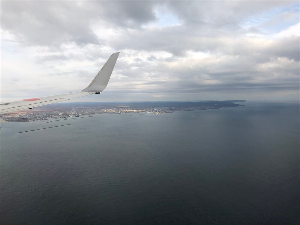 JAL543便からの釧路湿原1