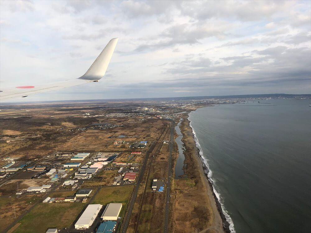 JAL543便からの釧路湿原2