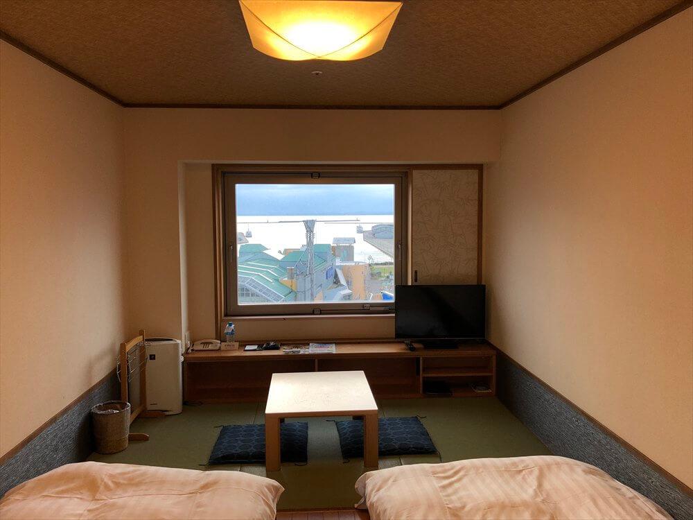 ラビスタ釧路川の和室ツインルーム2