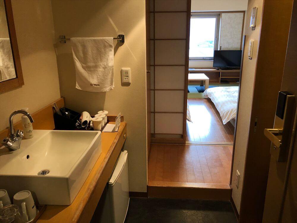 ラビスタ釧路川の和室ツインルーム1