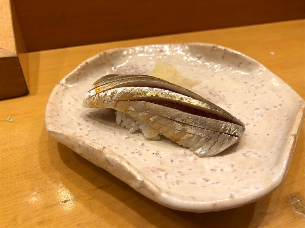 釧路の八千代本店のサンマ