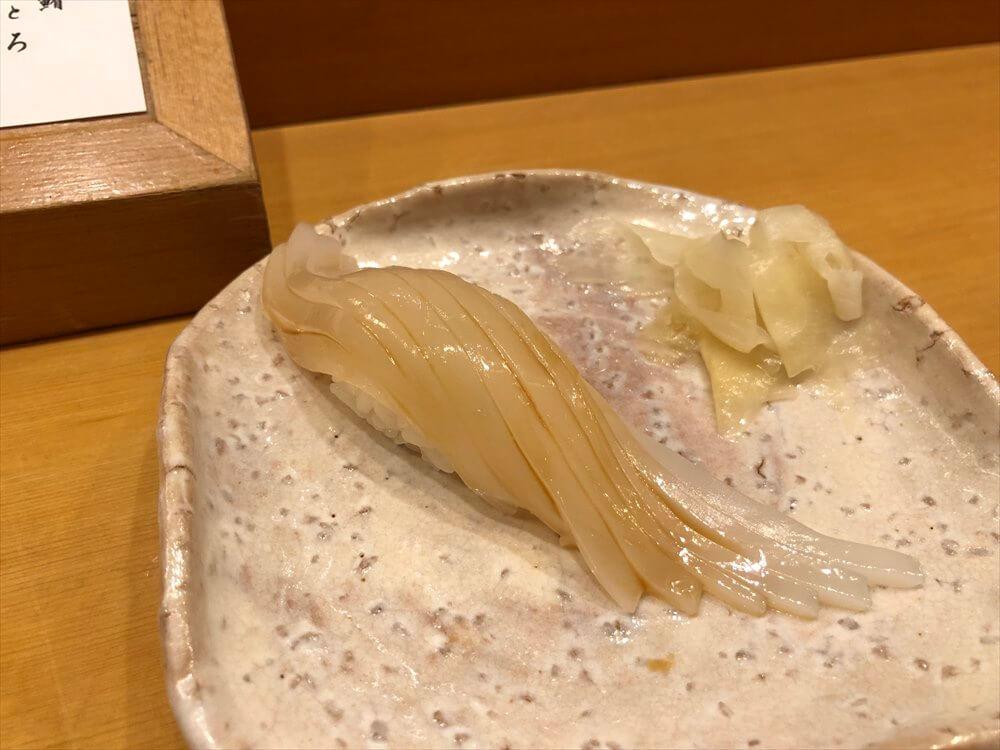 釧路の八千代本店のイカ