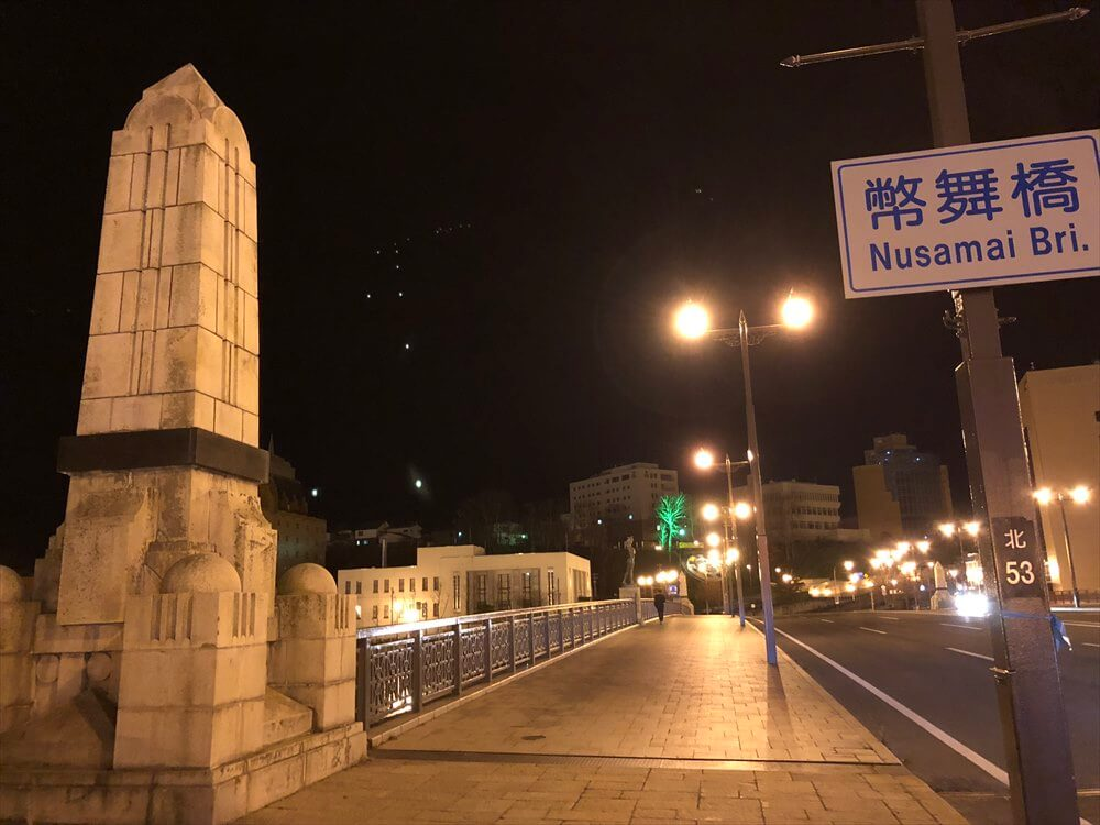 深夜の幣舞橋1