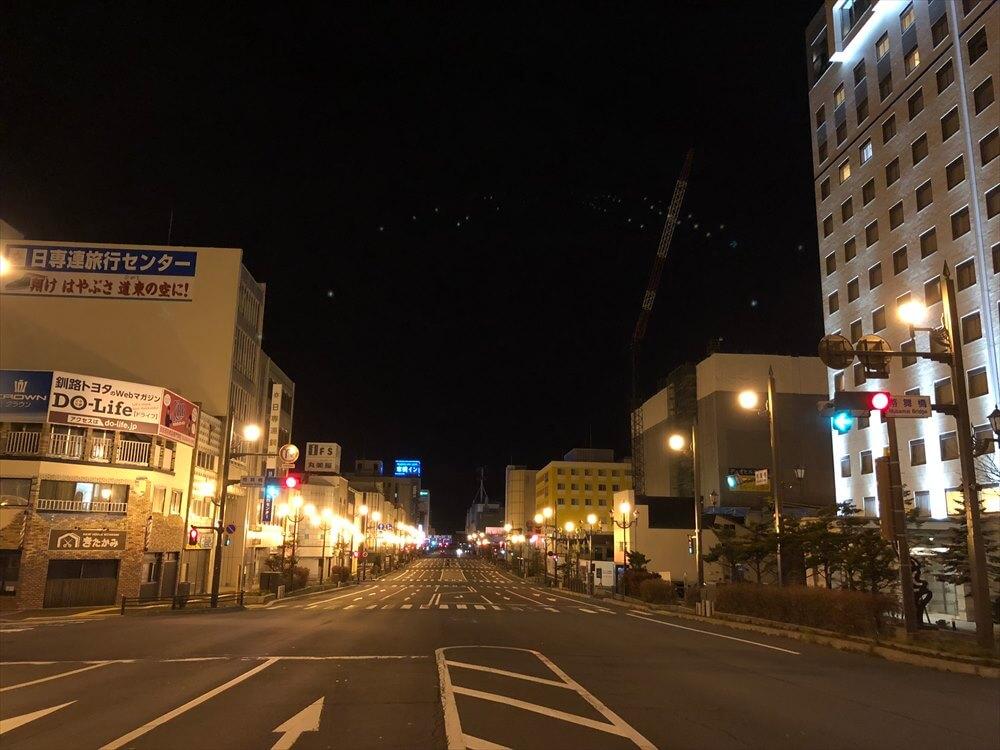 深夜の幣舞橋3