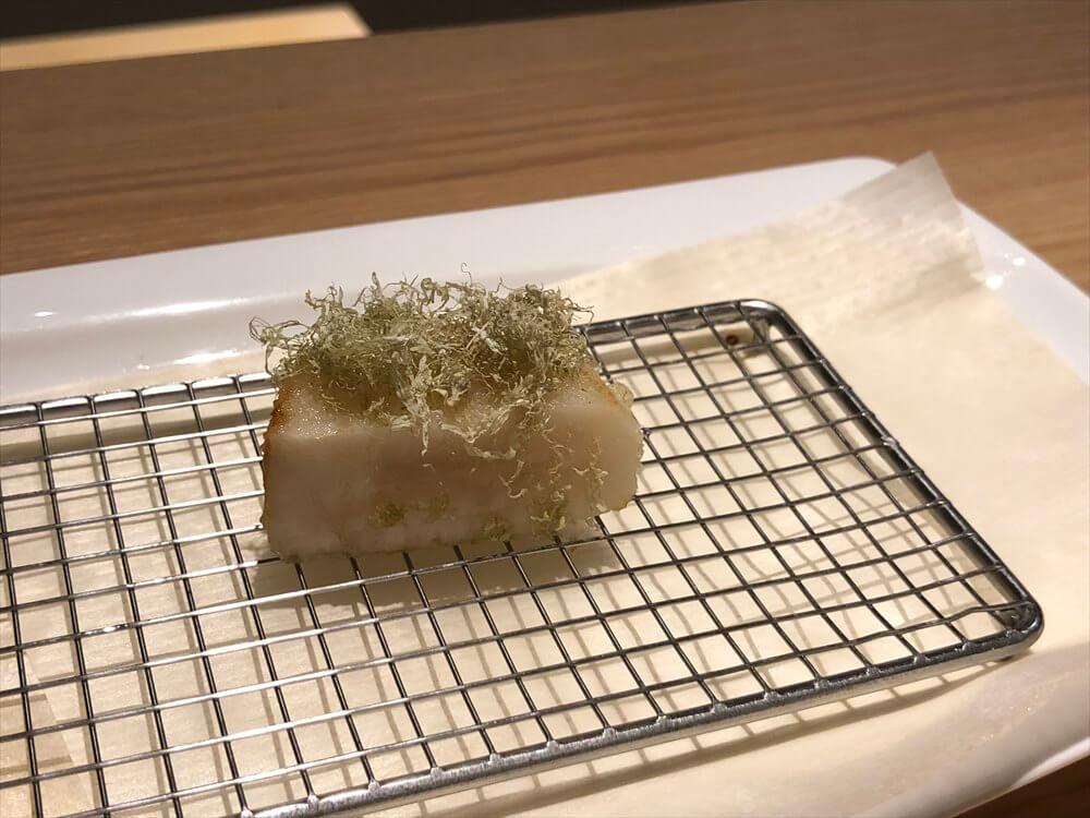 釧路の天ぷら「彩」のホタテ2