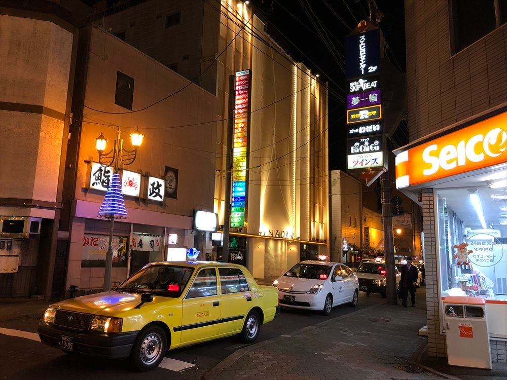 釧路の繁華街