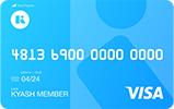 Kyash Card Lite券面デザイン