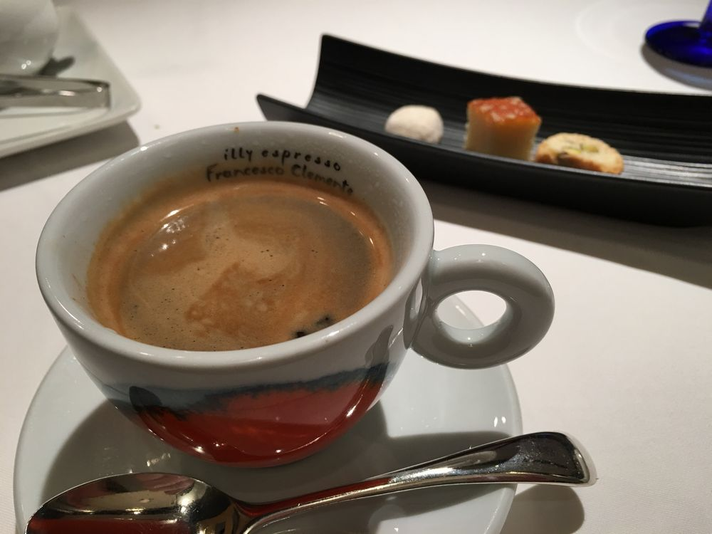 リストランテ ティ ヴォリオ ベーネのコーヒー