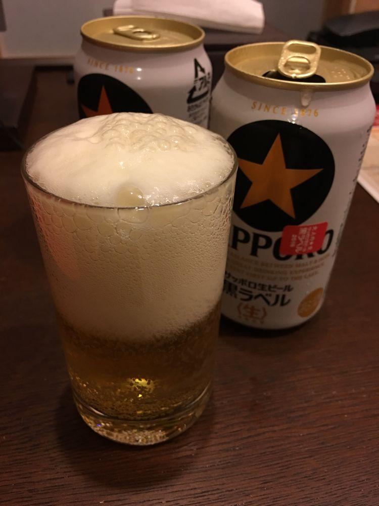 ホテルビスタプレミオ京都でビール