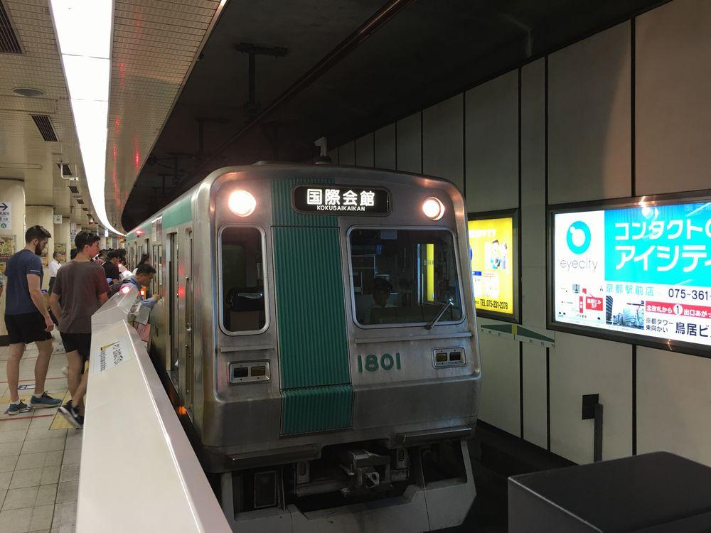 地下鉄烏丸線の車両