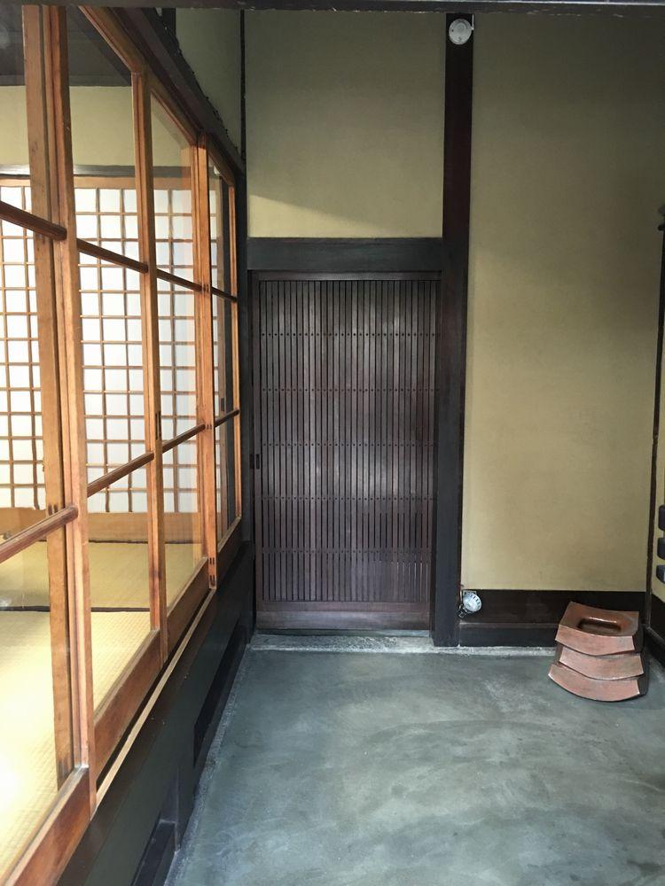 正庵の玄関