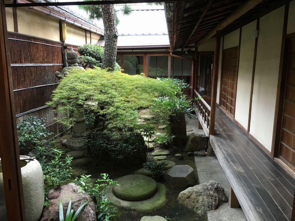 正庵の中庭