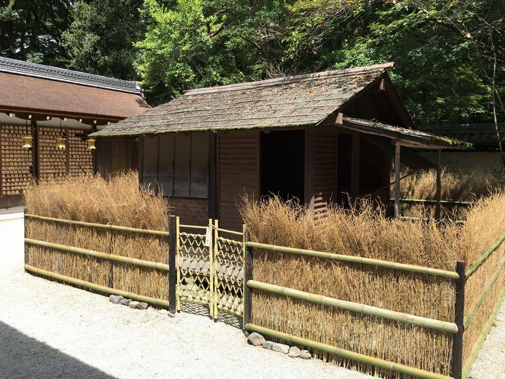 下鴨神社の河合神社の鴨長明の方丈庵