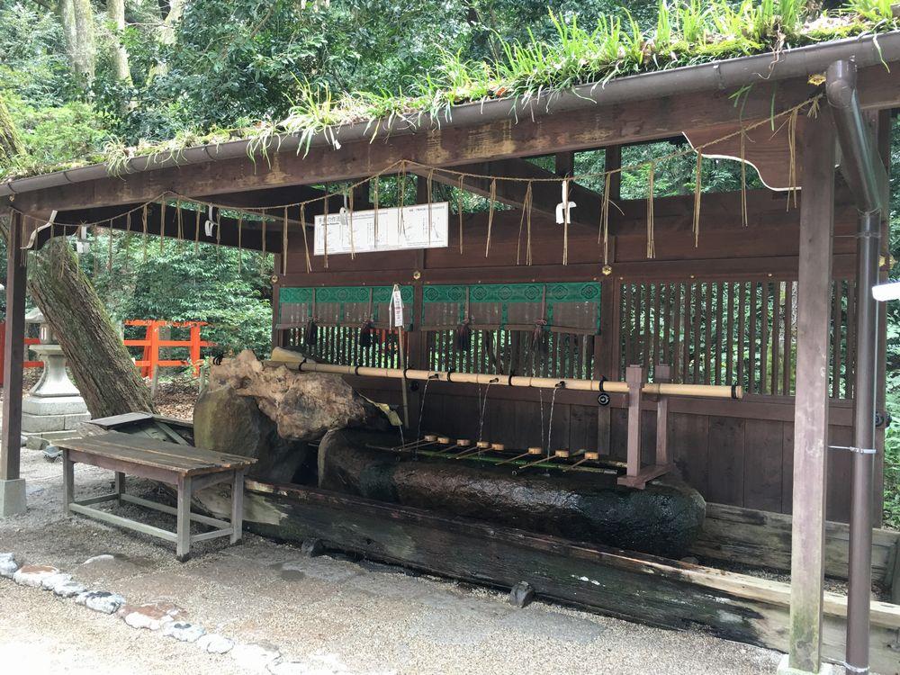 下鴨神社の手水舎