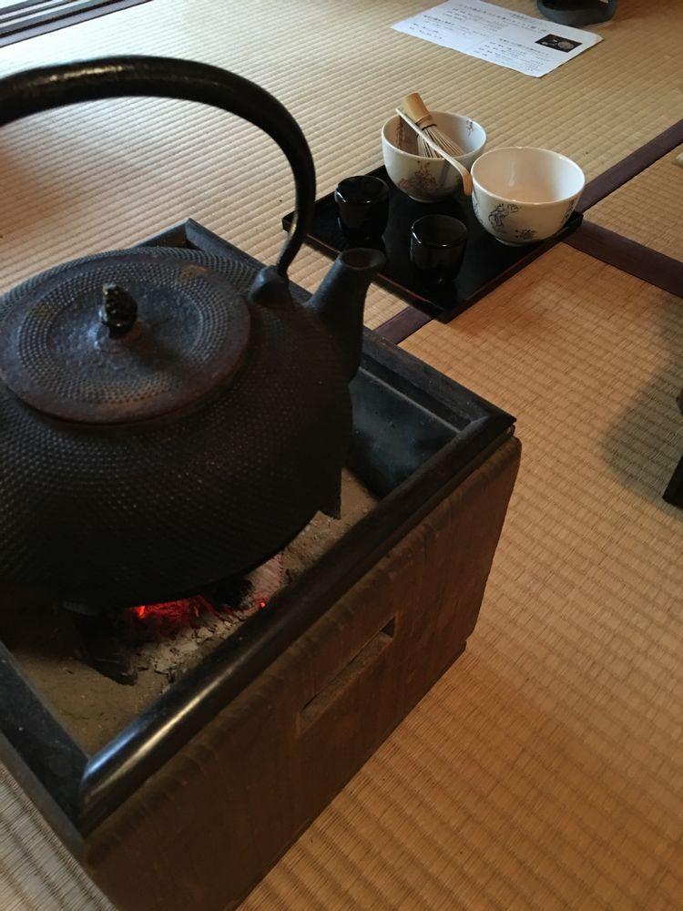 皐盧庵茶舗の抹茶1