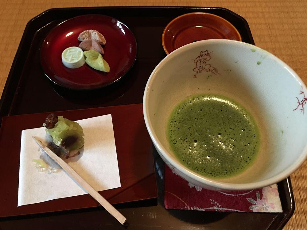 皐盧庵茶舗の抹茶2