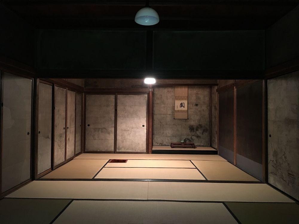 京都の大徳寺の高桐院の意北軒
