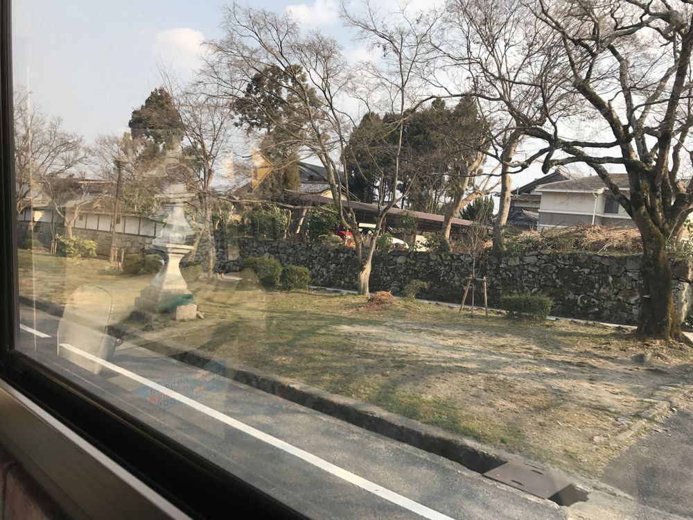 坂本の石垣