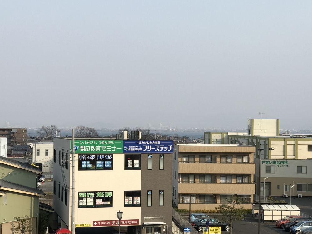 比叡山坂本駅から琵琶湖