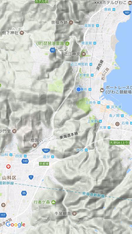湖西線で京都駅へ