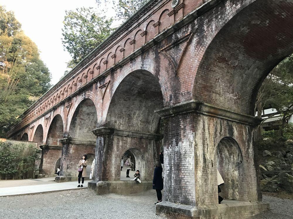 南禅寺の水路閣2