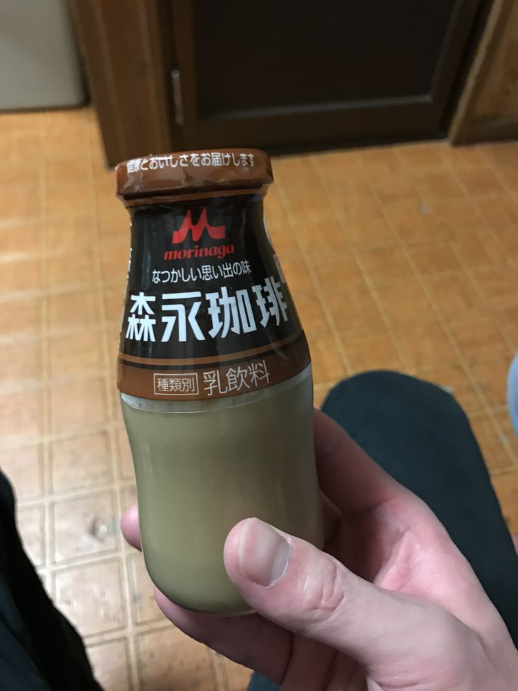 銀水湯のコーヒー牛乳
