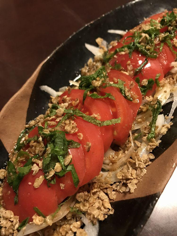 倖元のトマトサラダ
