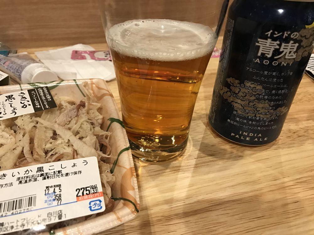 家で追加ビール