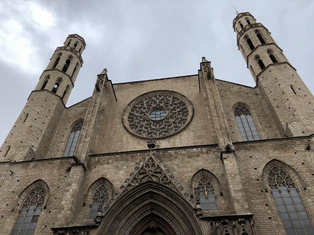 サンタ・マリア・ダル・マル教会の外観2