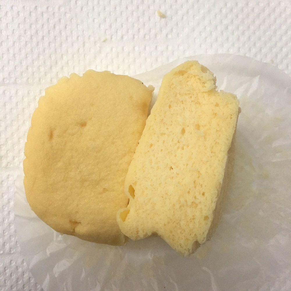 ローソンのブランのチーズ蒸しケーキ