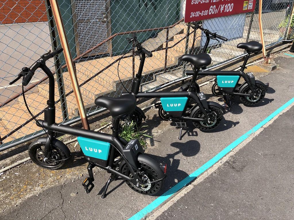 LUUPのコンパクトな電動自転車