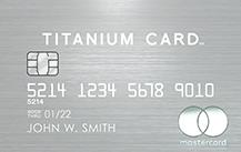 個人決済用ラグジュアリーカード チタンカード券面デザイン