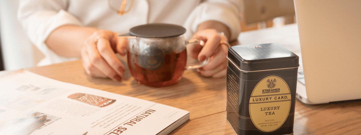 ストリーマー コーヒー カンパニーのLUXURY TEA優待