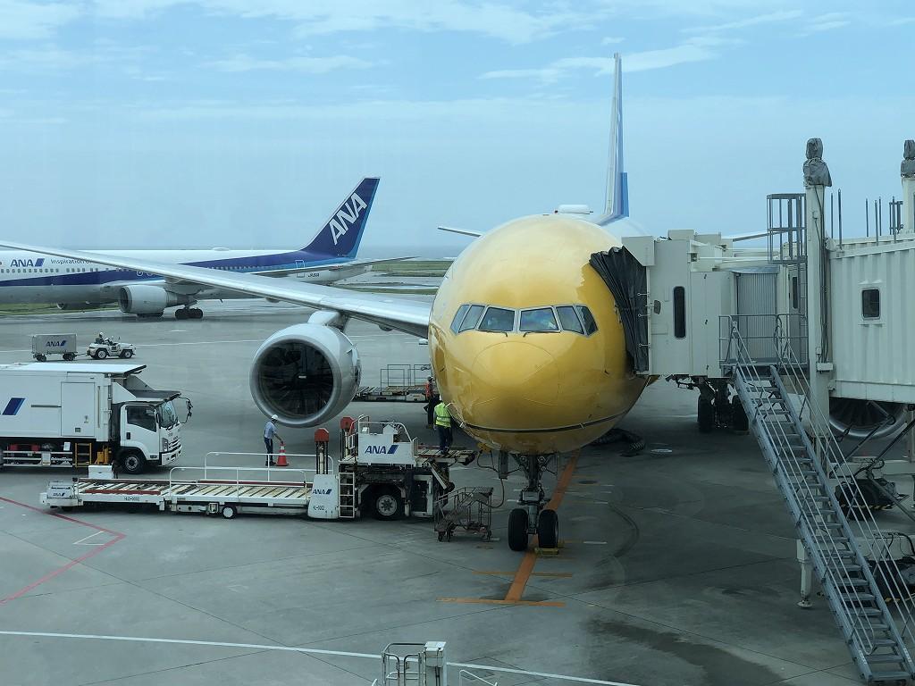 スターウォーズジェットのANA471便2