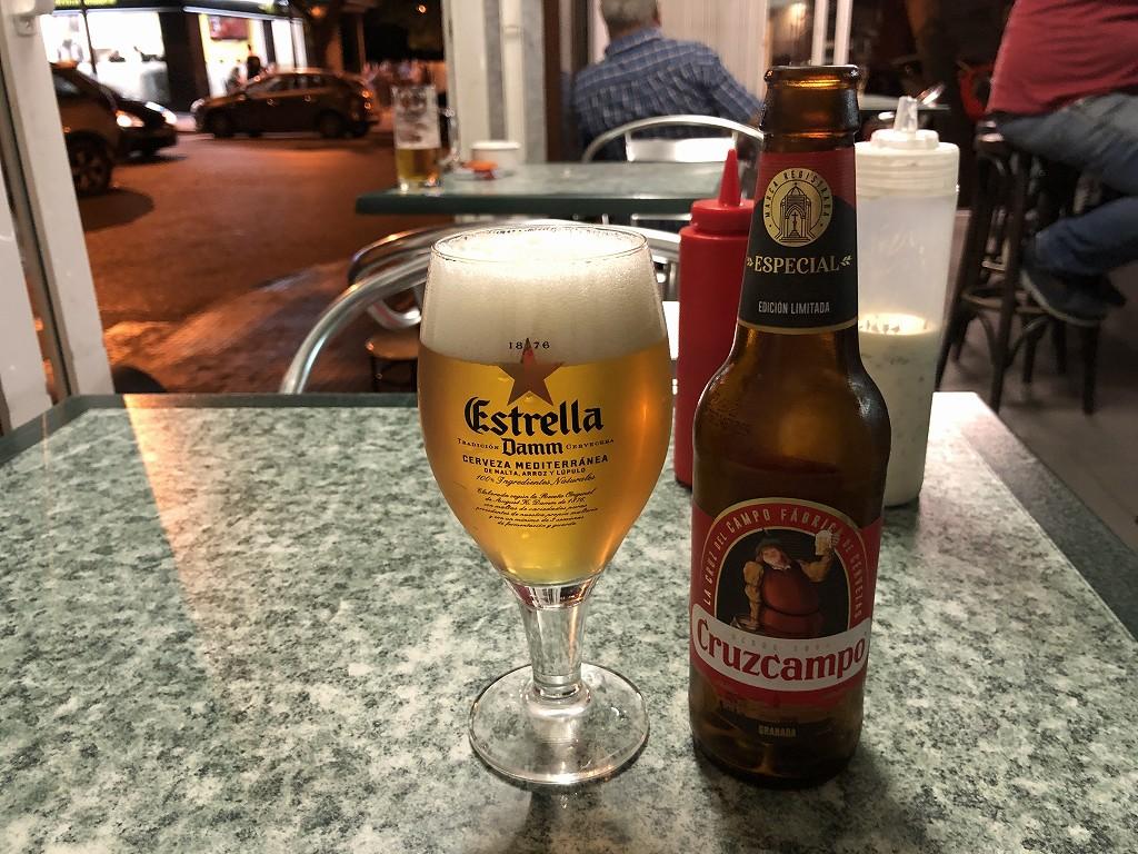 パルマ・デ・マヨルカ郊外のMARALBAのビール
