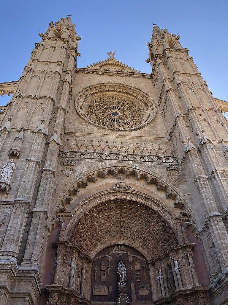 マヨルカ大聖堂の外観2