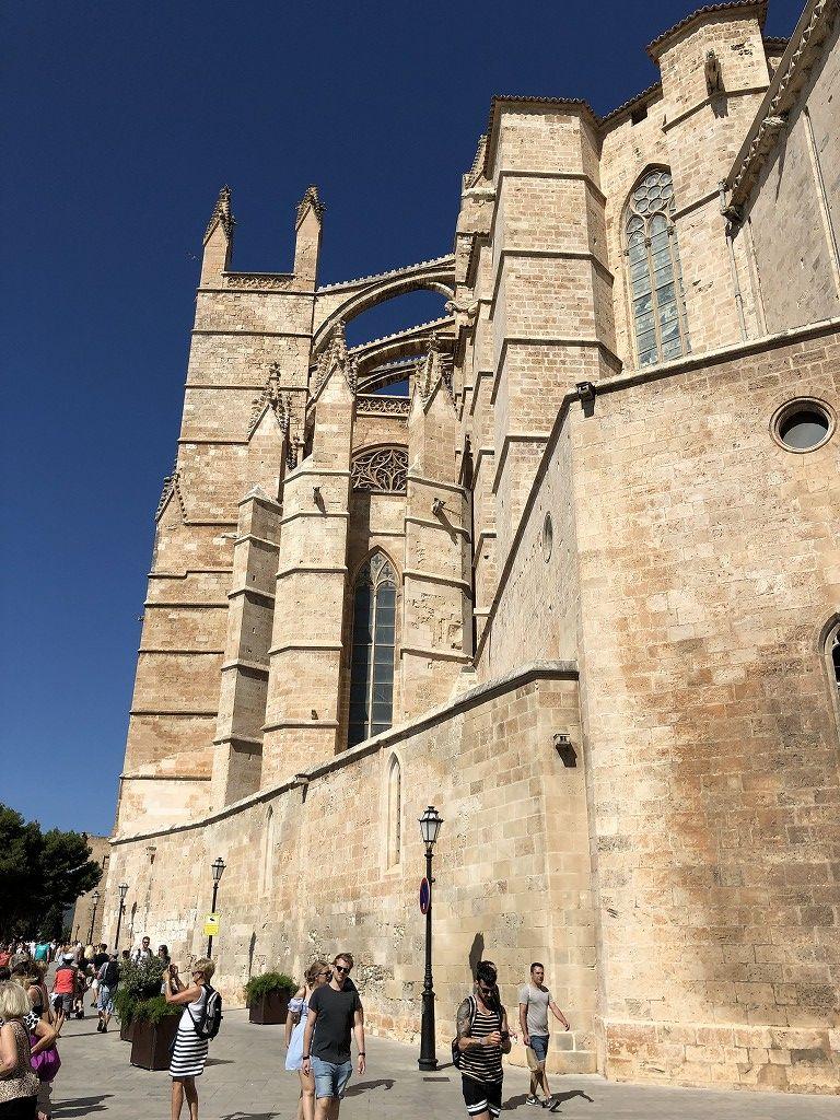 マヨルカ大聖堂の外観4