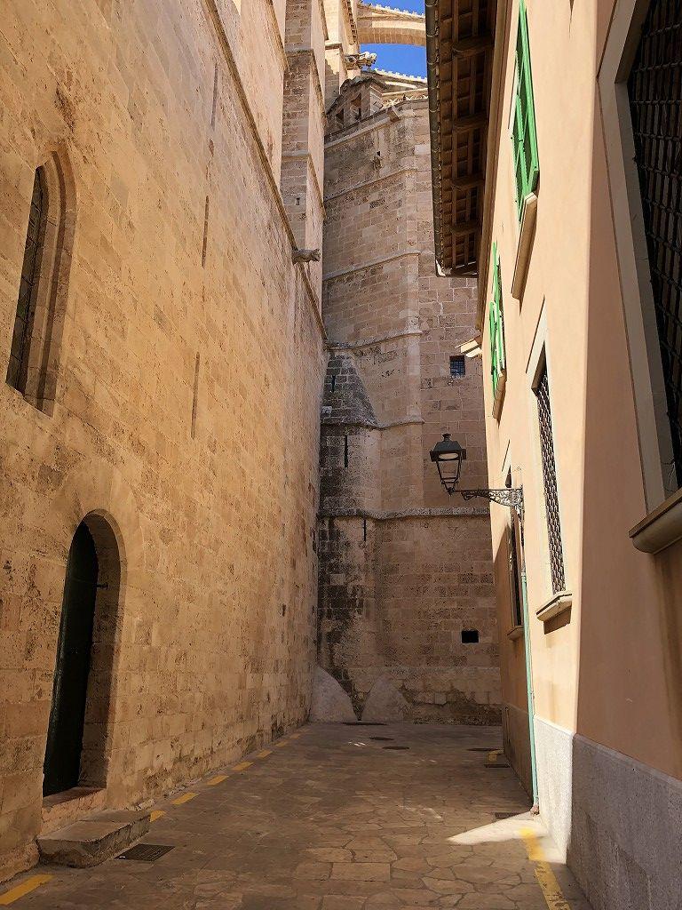 マヨルカ大聖堂の外観5