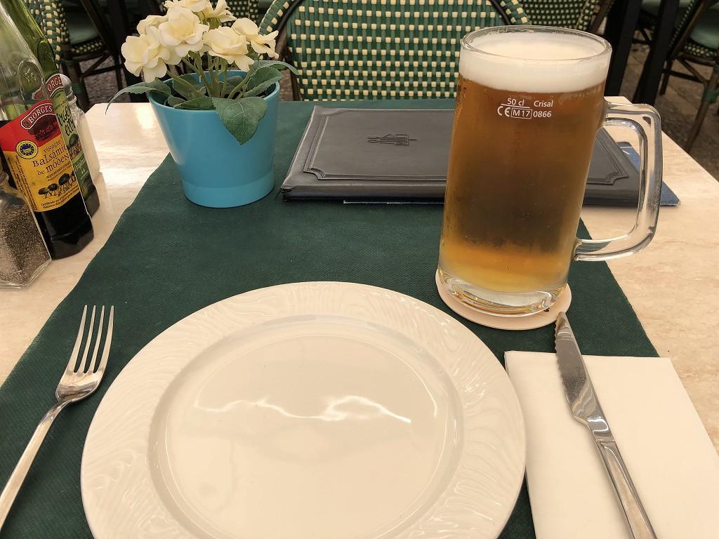 パルマ・デ・マヨルカのCAN FLORのサンミゲルビール