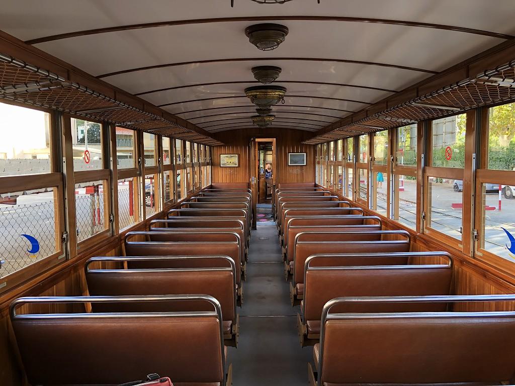 パルマ・デ・マヨルカのソーイェル鉄道の列車6