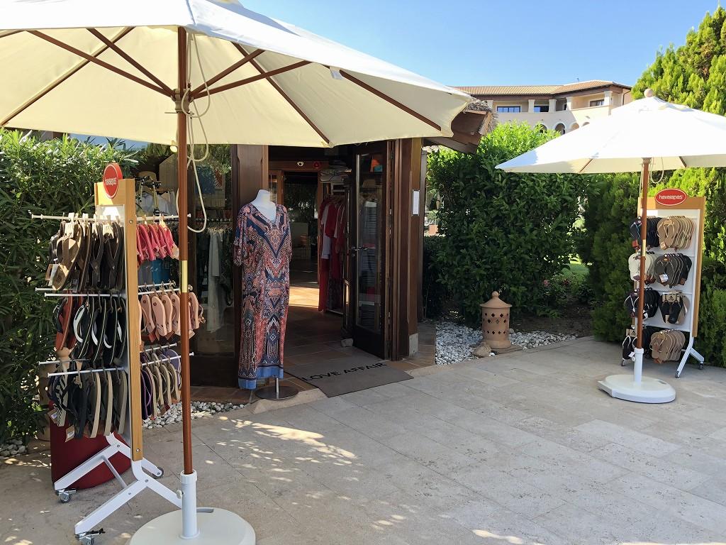 セントレジス・マルダバル・マヨルカリゾートのプールサイドの売店