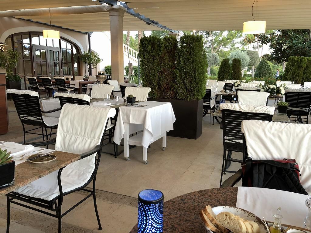 セントレジス・マルダバル・マヨルカリゾートのアクアレストラン4