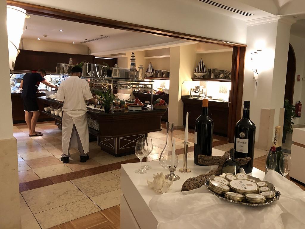 セントレジス・マルダバル・マヨルカリゾートのアクアレストラン9