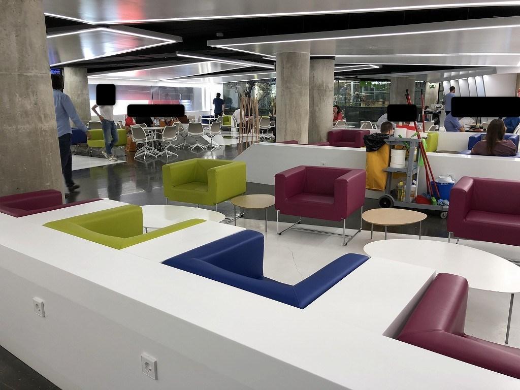 パルマ・デ・マヨルカ空港のSALA VIPラウンジ Formentorの内観2