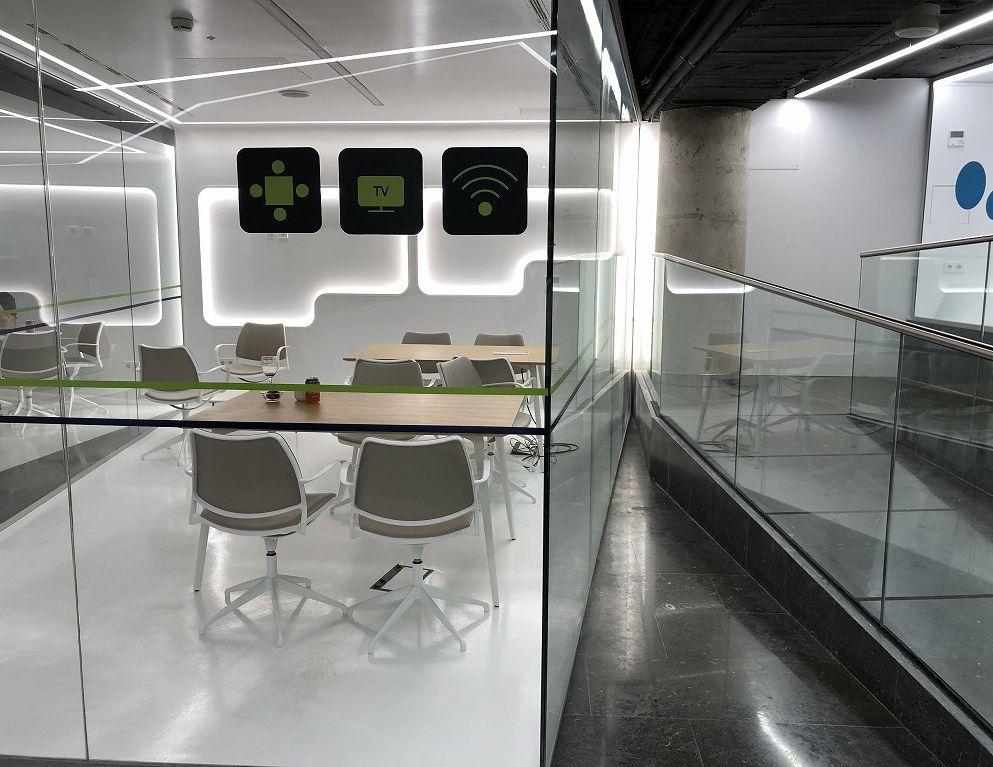 パルマ・デ・マヨルカ空港のSALA VIPラウンジ Formentorのミーティングルーム