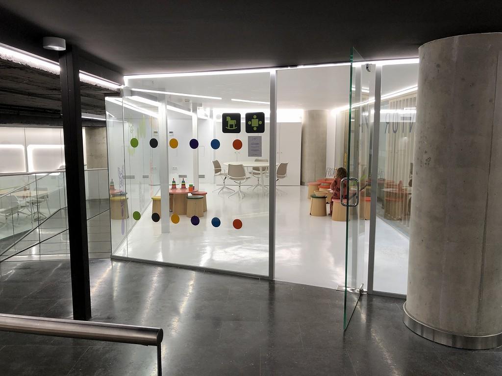 パルマ・デ・マヨルカ空港のSALA VIPラウンジ Formentorのキッズルーム