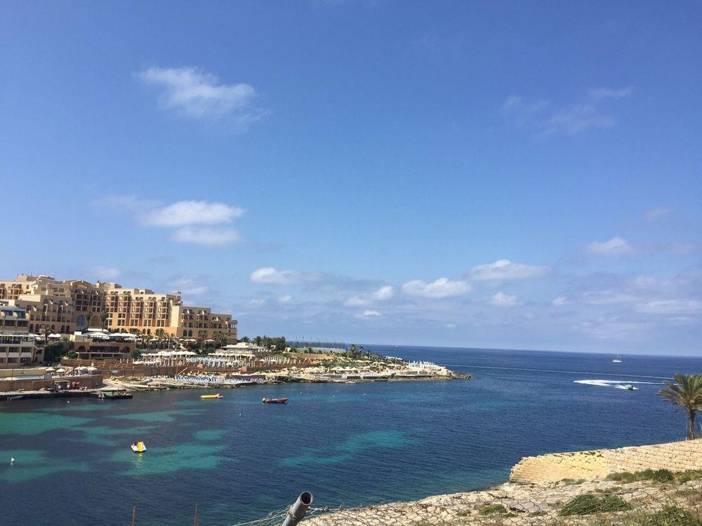 マルタ島の海の景色
