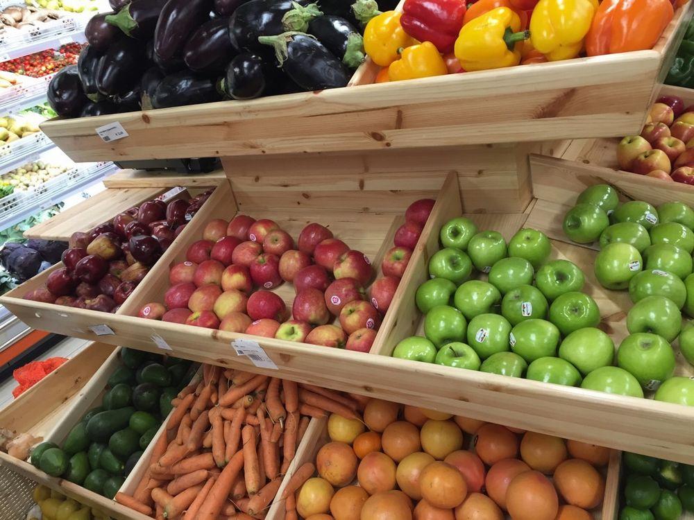 マルタ島のスーパーのフルーツ・野菜