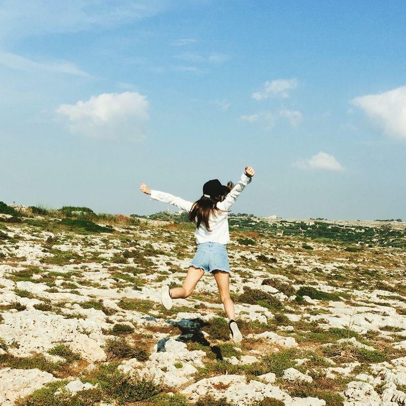 マルタ島の草原